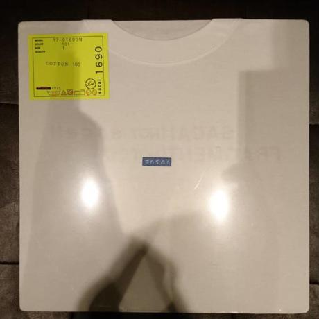 新品★sacai サカイ レコード Tシャツ 1サイズ ホワイト