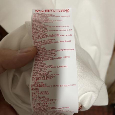 新品 MARNI マルニ ブランドロゴ レタリングプリント オーバーサイズ 半袖 Tシャツ ホワイト