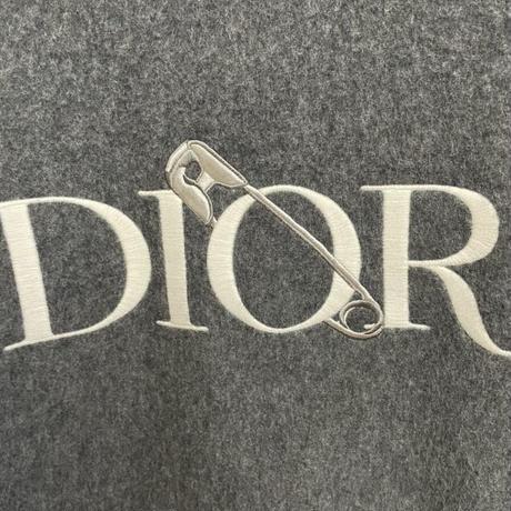 国内完売!激レア20AW DIOR AND JUDY BLAME コラボ ディオール ブランドロゴ ピン ニット セーター ニットセーター Lサイズ