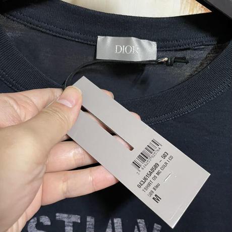 新品★CHRISTIAN DIOR ATELIER オーバーサイズ Tシャツ ディオール ブランドロゴ半袖Tシャツ オーバーサイズ M