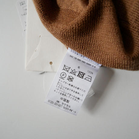 2018AW  / L'Appartement / LABRADOR T/N Volume Knit /  2011-1678