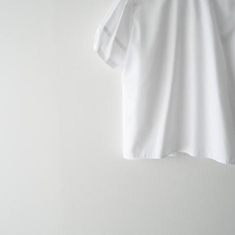 2021AW今季 未使用 / YOKO CHAN / Puff-sleeve Round-collar Shirt /  2110-0461