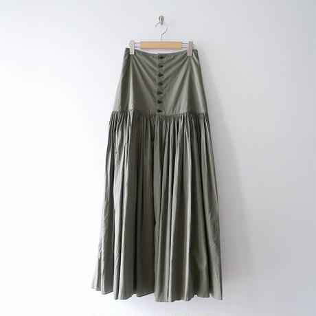 JUN MIKAMI ハイウエストギャザーマキシスカート 1908-0635