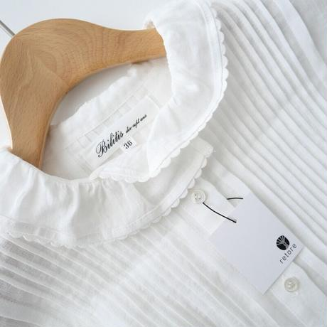 2020  / Bilitis dix-sept ans / Stand Collar Blouse /  2012-0826
