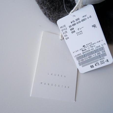 2020 未使用 / LAUREN MANOOGIAN / ロングカーディガン / DEUXIEME CLASSE購入品 2012-0922