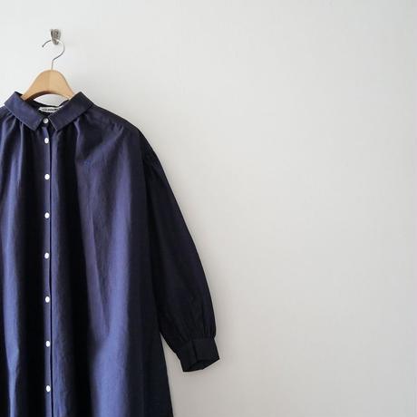 2019SS未使用 / mina perhone シャツワンピース pilvi 1908-0455