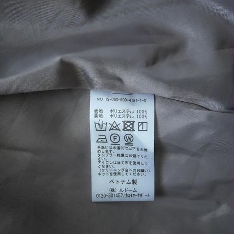 2019SS  / IENA / ストライプフラワースカート /  2009-0924