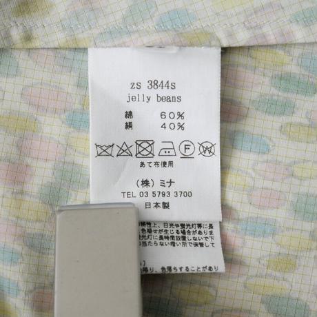 2021SS今季新作 未使用 / mina perhonen / Jelly beans シャツドレス 2021 new year item /  2102-0929