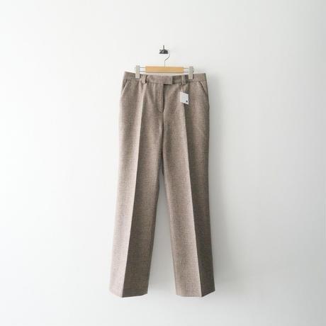 2021AW今季  / DEUXIEME CLASSE / Slim Flare パンツ(check) /  2110-0286