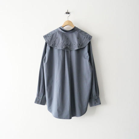 2021SS今季  / 6 BEAUTY&YOUTH / EMBROIDERY COLLAR BLOUSE/ブラウス /  2105-0623