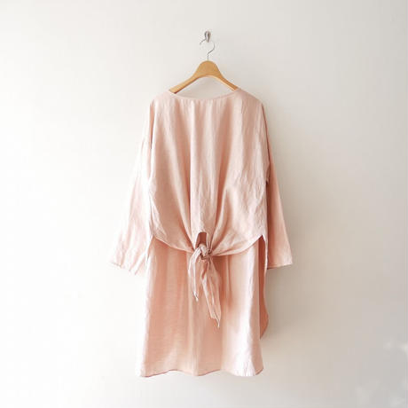 2019SS / BEARDSLEY 前結びチュニックシャツ 1908-0203