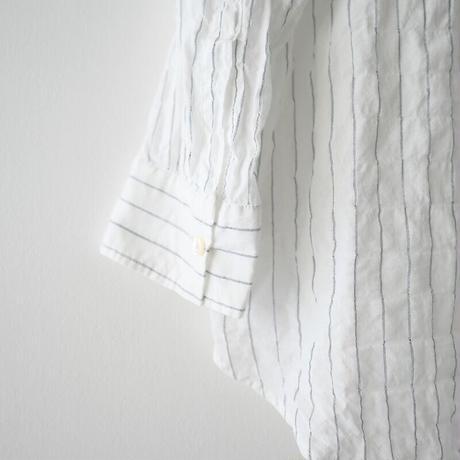 2020SS  / AP STUDIO / エアリーストライプシャツ /  2011-0277