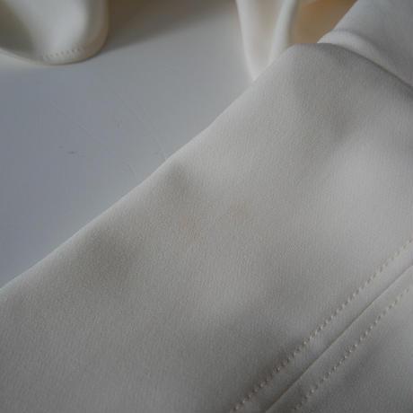 DEUXIEME CLASSE / トリアセジョーゼット ドロップブラウス /  2009-0381