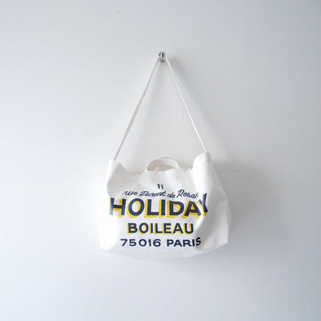 2019未使用 / L'Appartement購入品 HOLIDAY バッグ NEWSPAPER BAG 1908-1608