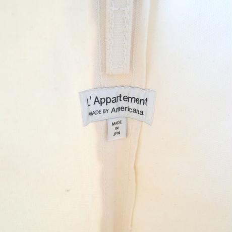 2020未使用  / Americana×TEMBEA×L'appartement / AME Tote Bag ネイビー / L'Appartement別注 2104-1380