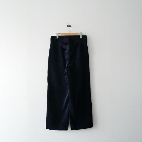 2018AW / Traditional ミリタリーパンツ WITH BACK BELT 1908-1530