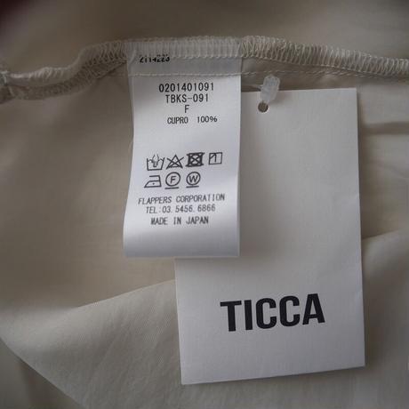 2020SS  / TICCA / Wポケットオーバーシャツ /  2103-0203