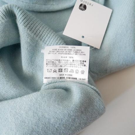 2020AW今季  / 田中さんのセーター / 【C.Sweat】12GAUGE / Cashmere 100% / 受注生産品 2011-0401