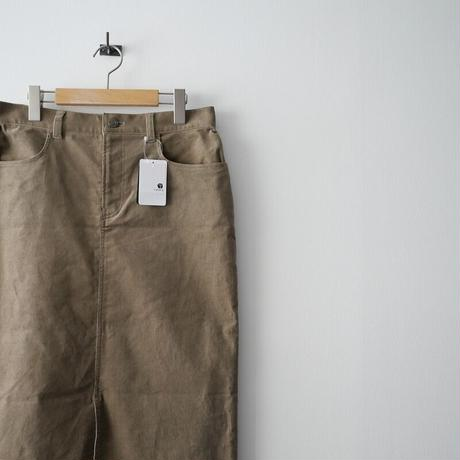 2019AW 未使用 / Lisiere L'Appartement / Corduloy スカート /  2012-0095