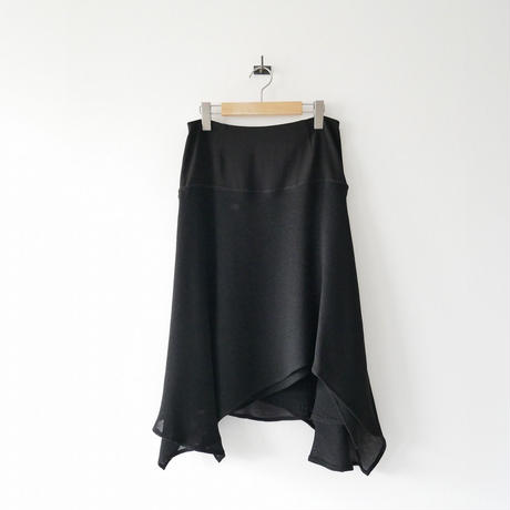 2018SS 未使用 / Room no.8 / Mesh sweitching drape sk / 2006-0743