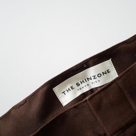THE SHINZONE / THE SKATER PANTS 今季継続品 2004-0735
