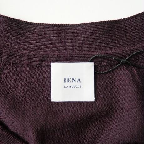 IENA LA BOUCLE / Brisbane Vネックカーディガン /  2101-0620