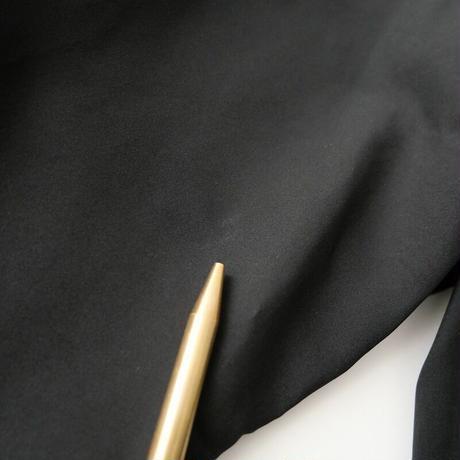 2019 未使用 / Cloth&Cross / シルクカシュクールブラウス /  2104-0071