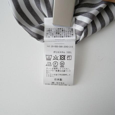 2020  / AP STUDIO / ストライプ サテンシャツ /  2105-0335