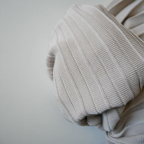 2019AW  / NOBLE / ニットプリーツスカート /  2009-0943
