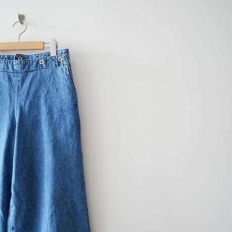 2018AW未使用 / nowos デニム marine pants