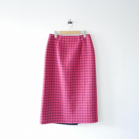 IENA / Wフェイスリバーシブルミッドカーフスカート /  2012-0639