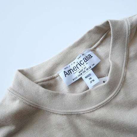 2019AW  / Americana / ハイネックサイドZIPスウェットワンピース / DEUXIEME CLASSE購入品 2012-1062