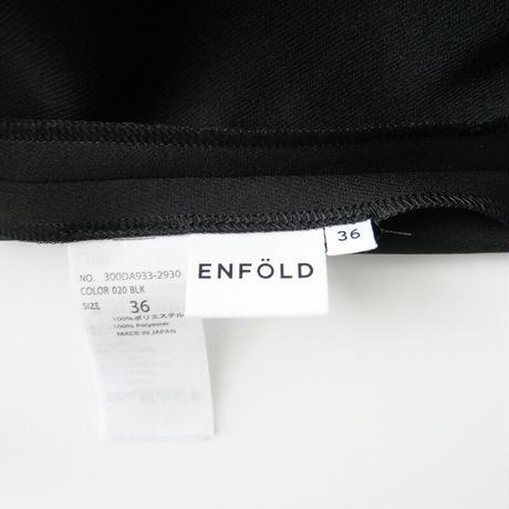 2020  / ENFOLD / ストラクチャードドレス /  2102-0576
