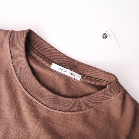 2021AW今季  / COUTURE D'ADAM / BROWN UNIVERCITY Tシャツ / DEUXIEME CLASSE購入品 2110-1624