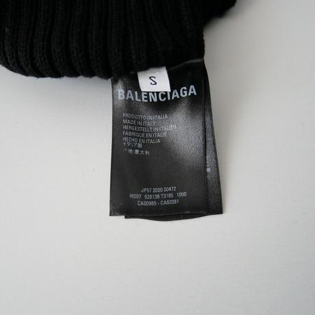 2020SS  / BALENCIAGA / リブニットカーディガン /  2105-0445