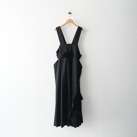 2020AW  / ENFOLD / Enfold Fine WO ギャバ デザイン ジャンパースカート / コレクションピース 2110-0033