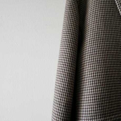 2018AW / AURALEE コート DOUBLE FACE CHECK DOUBLE BREASTED COAT 1911-0714