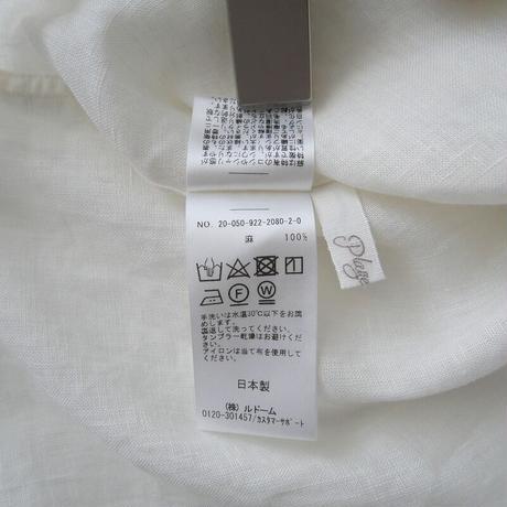2020SS / Plage / アサ volume シャツ / 2012-0775