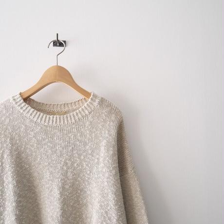2019SS  / L'Appartement / Volume Sleeve Knit / 2105-0967