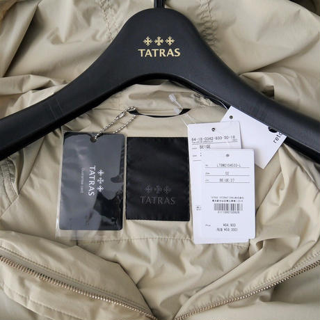 2021  / TATRAS / 別注 CRIDOLA ナイロンモッズコート / Demi-Luxe BEAMS別注 2110-0002