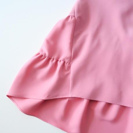 2019AW  / YOKO CHAN / Back Tiered Blouse /  2012-1040