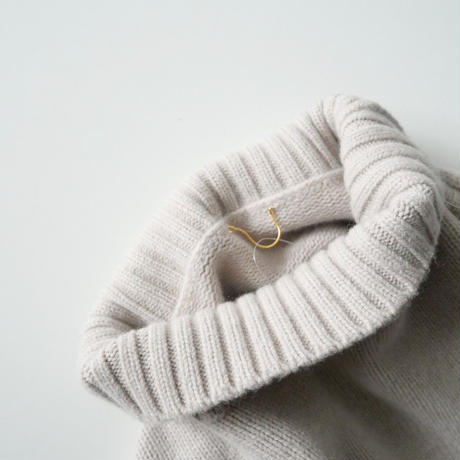 2019AW 未使用 / L'Appartement / Back Long T/N Knit /  2012-1054