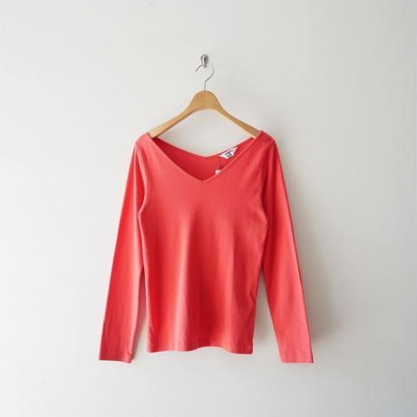 2018 / AURALEE×IENA 別注VネックTシャツ 1907-0964