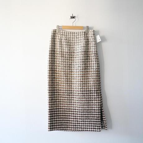 2020AW今季  / VERMEIL par iena / ブライトダブルサテンアウトポケットスカート /  2012-0881