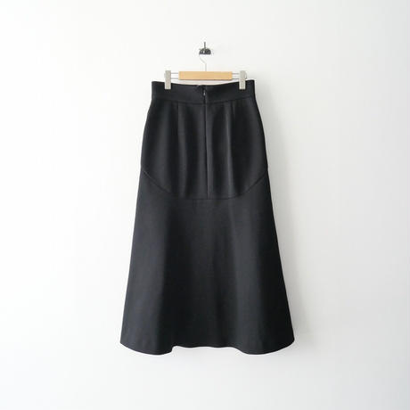 2021  / Mame Kurogouchi / Double Face Jersey Flared Skirt /  2110-0196
