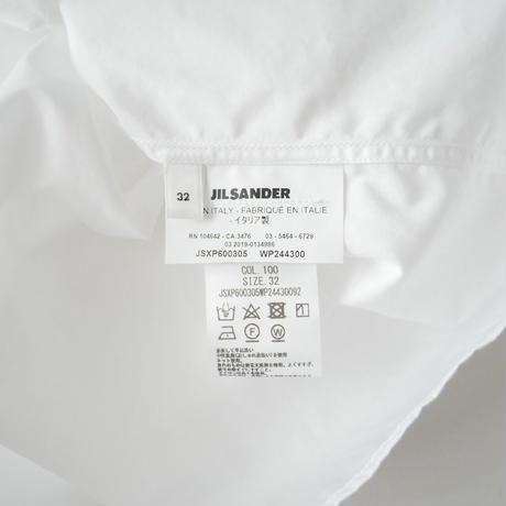 JIL SANDER / THURSDAY ピンタックシャツ /  2011-0730