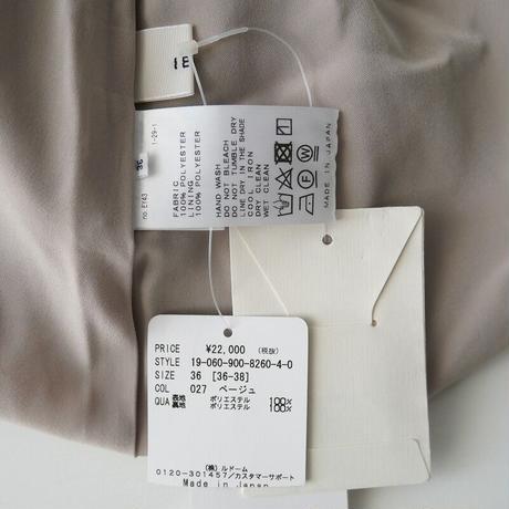 2019  / IENA / ドットフラワープリーツスカート /  2101-1510