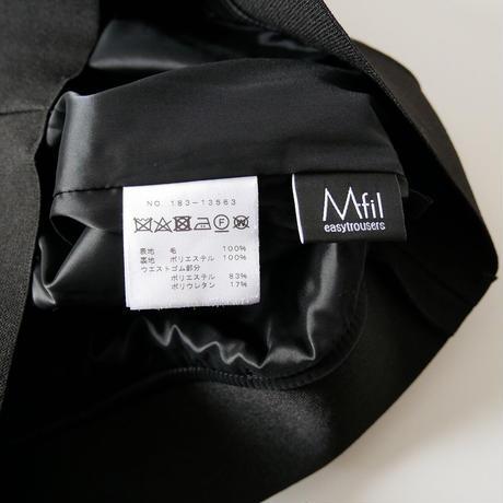 M・fil / ウールワイドパンツ /  2010-0343