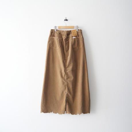 2020  / SURT / コーデュロイマキシスカート / DEUXIEME CLASSE購入品 2109-0167