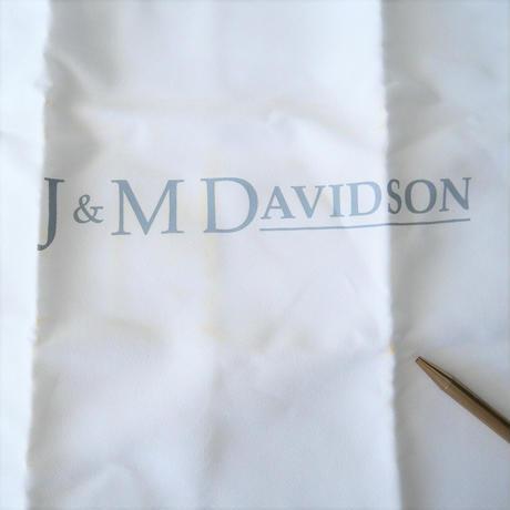 未使用 / J&M DAVIDSON / CHAIN PEBBLE MINI ヘビ革 /  2110-1538